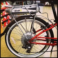 BionX electric bike kits for e-bike conversions here in PA