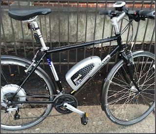 BionX electric bicycle on a Jamis Hudson Sport bike