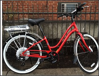 BionX electric bike kit installed on Hudson Jamis cruiser bike