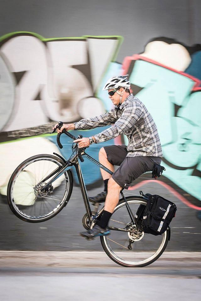 The Jamis Bikes Renegade can even ride wheelies.