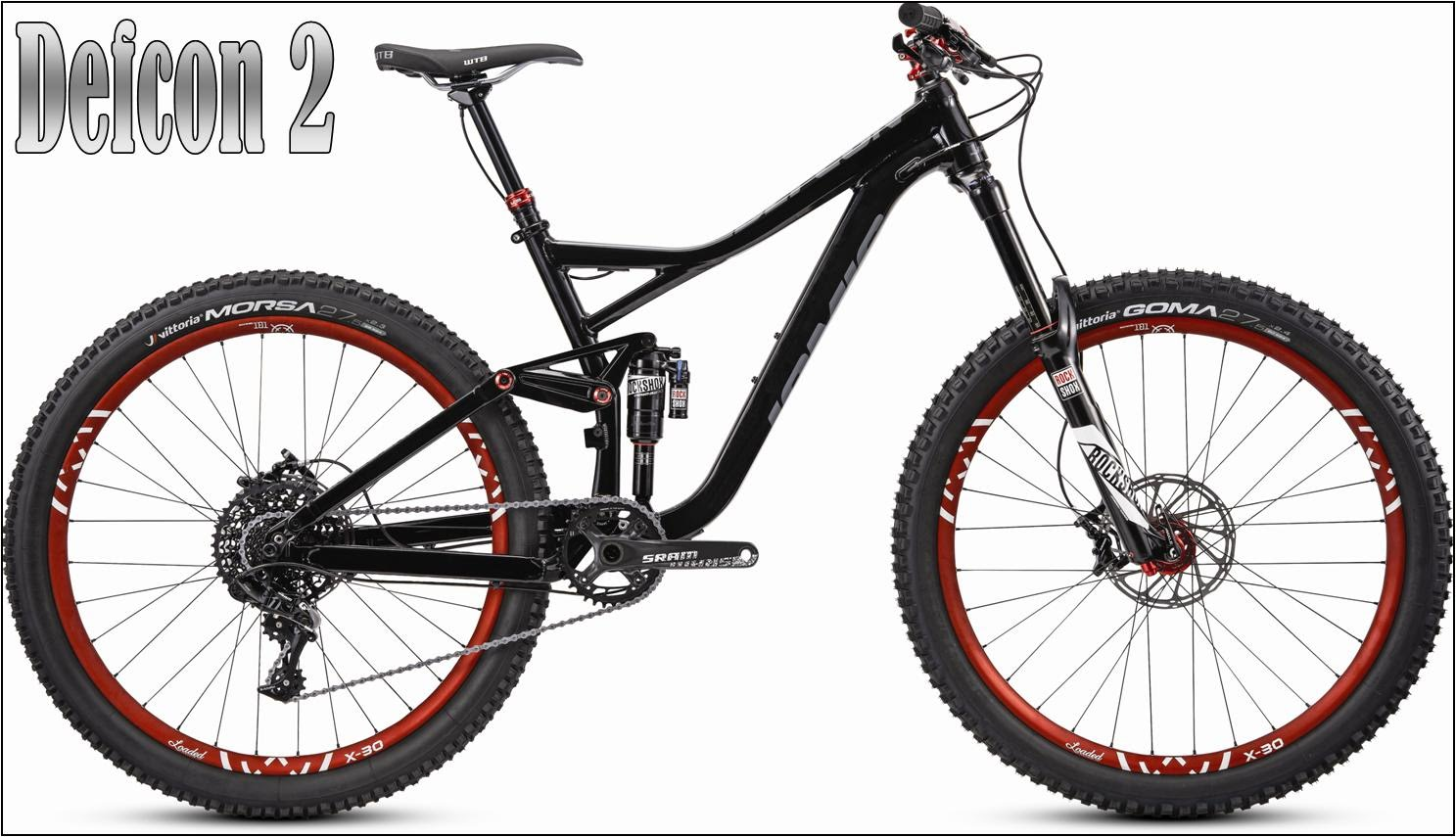 defcon 2 enduro bike mountainbike