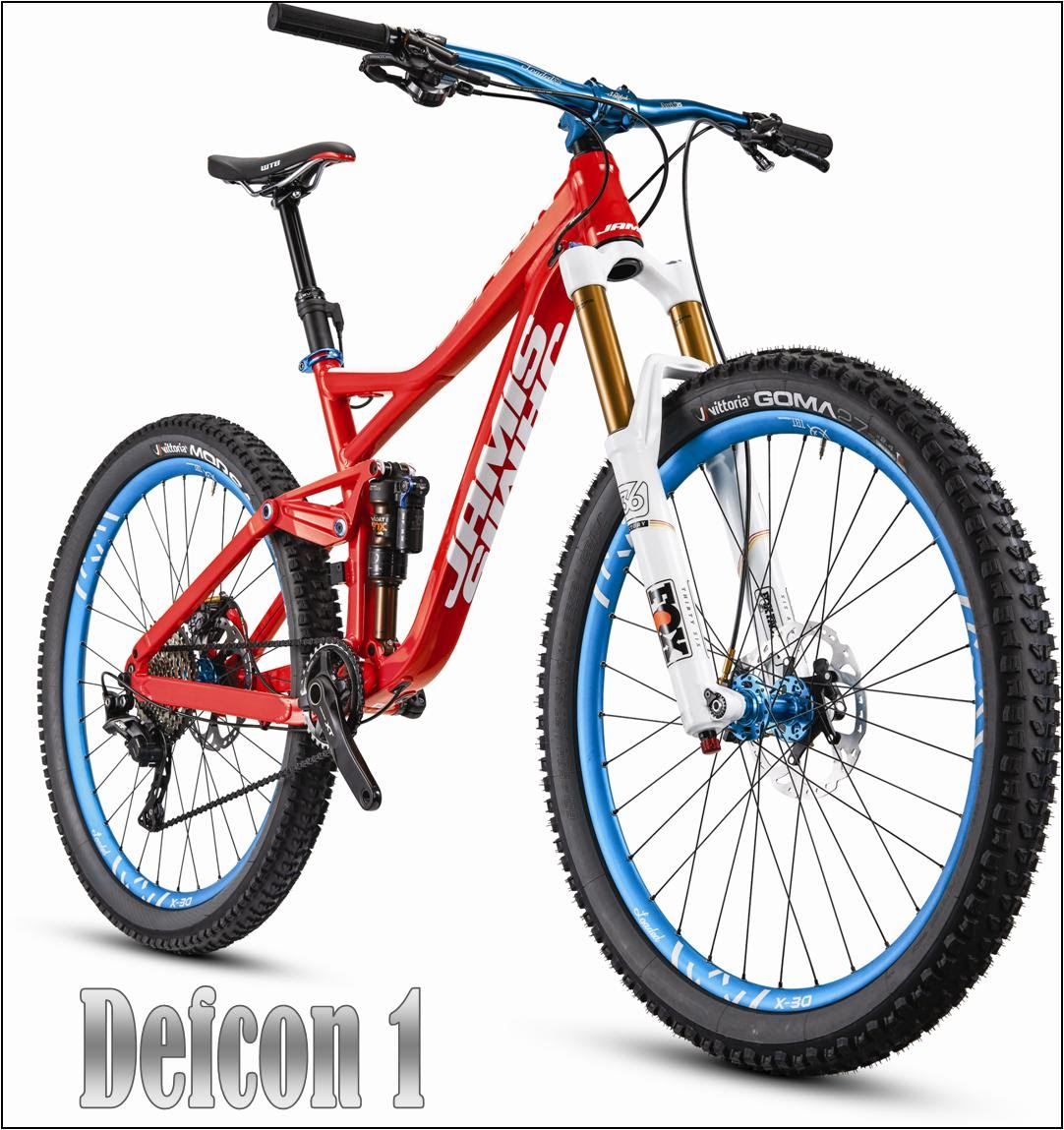 Defcon 1 jamis enduro mountain bike