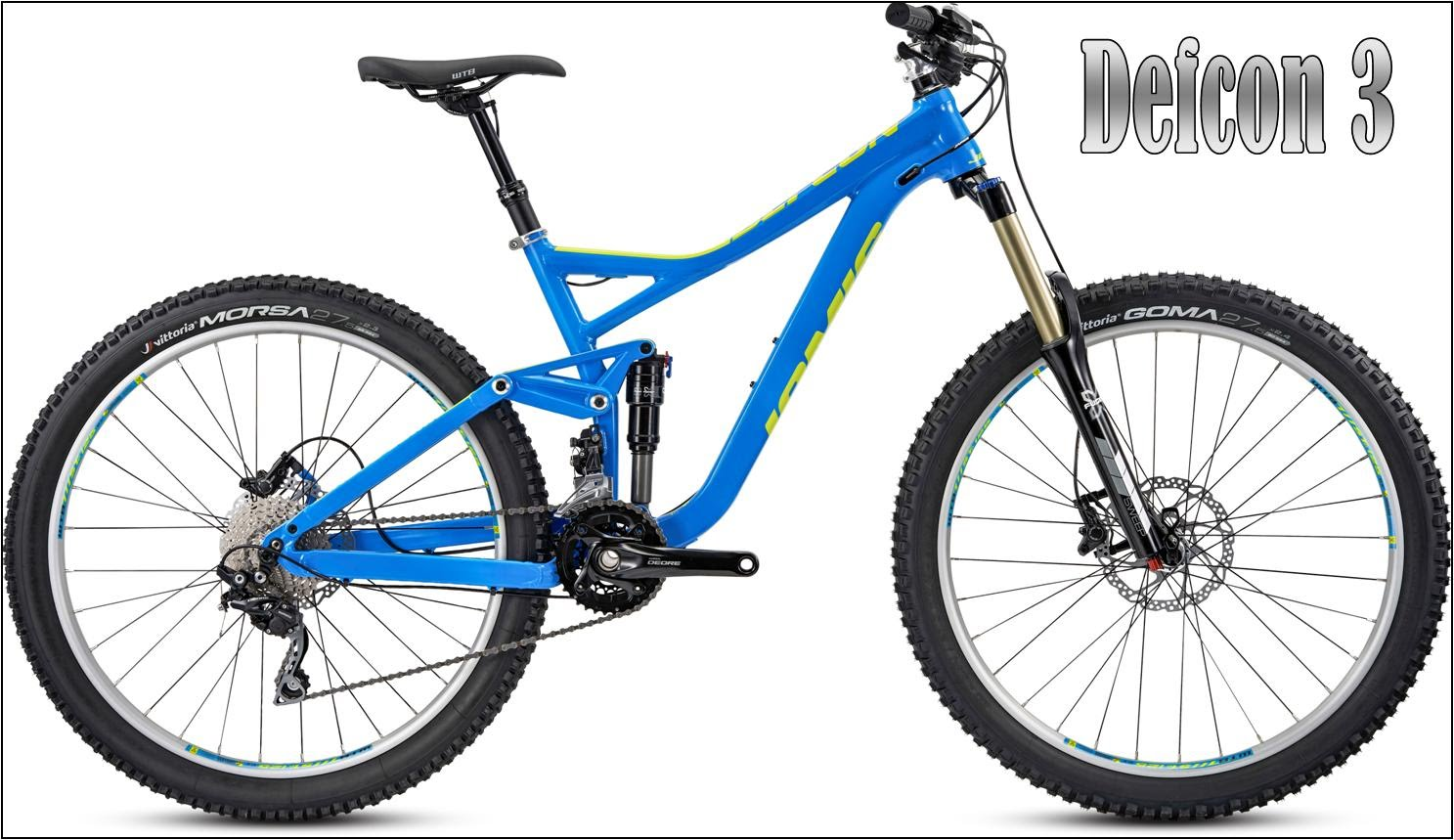 defcon 3 enduro mountain bike 650B 27.5