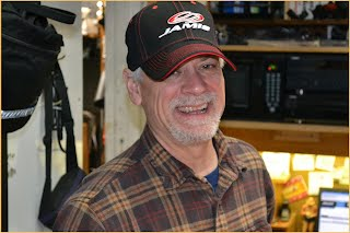 Eddie Magulick owner operator of Eddie's Bicycles and Hockey Equipment