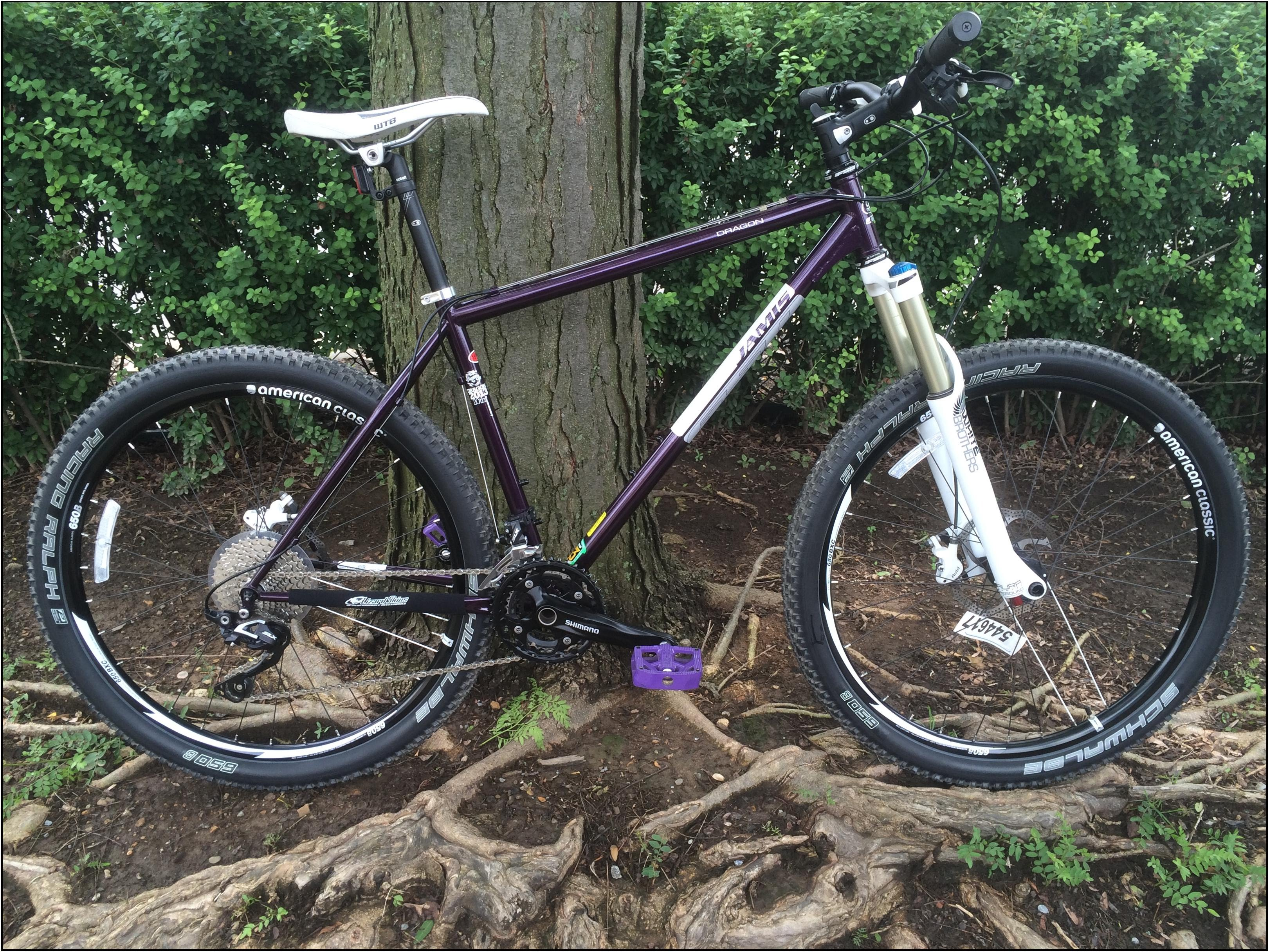 jamis dragon 650B trail mountain bike on sale