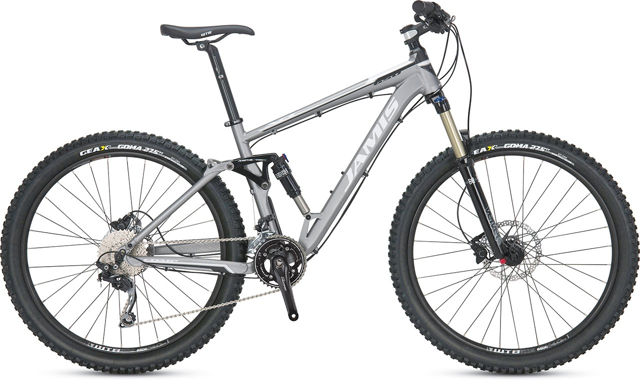 2014 Jamis Dakar XCT comp mountain bicycle full suspension on sale reduced price