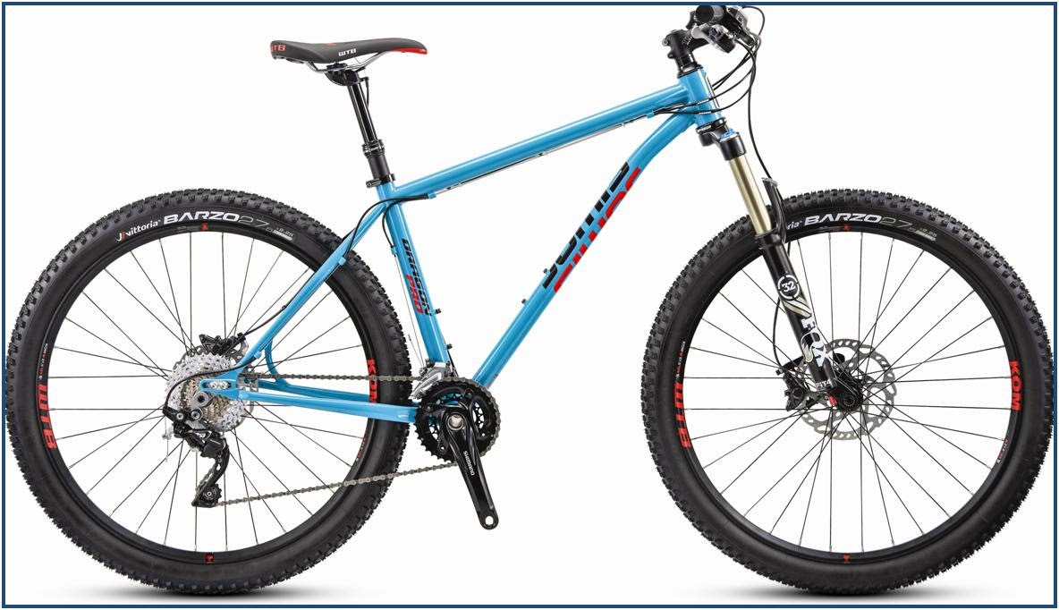 jamis bikes hardtail 650B mountain bike dragon pro steel frame