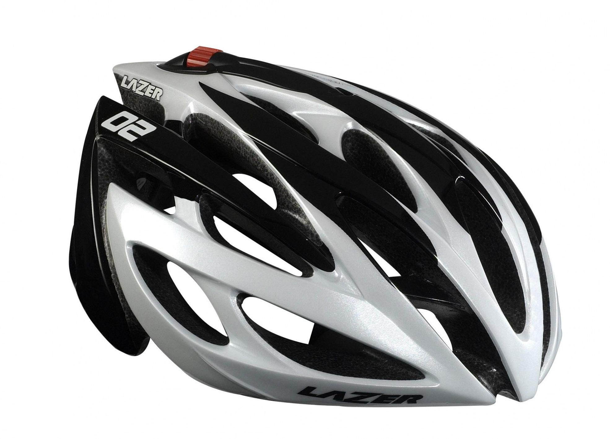 lazer o2 bicycle helmet image